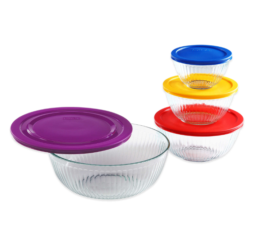 Featured Product 8-Piece Sculpted Mixing Bowl Set