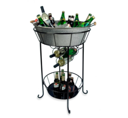 Featured Product Oasis Galvanized Steel Party Station