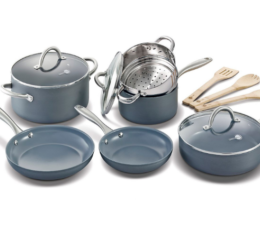 Featured Product Lima Ceramic Non-Stick 12-piece Cookware Set