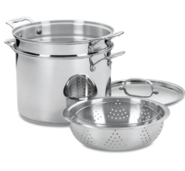 Featured Product Chef's Classic Stainless Pasta/Steamer Set