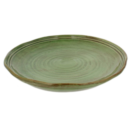 "Featured Product Classic 11.5"" Dinner Plates in Cilantro"