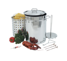 Featured Product 32-Quart Stainless Steel Turkey Fryer