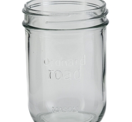 Featured Product 1 Pint (16-oz) Regular Mouth Mason Jars, Set of 6
