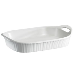 Featured Product French White 3-Qt. Oblong Casserole