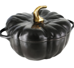 Featured Product Cast Iron 3.5-qt Pumpkin Cocotte in Matte Black