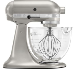 Featured Product Artisan® Design Series 5-Quart Tilt-Head Stand Mixer with Glass Bowl