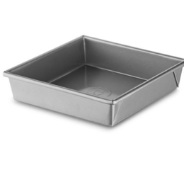 "Featured Product Professional-Grade Nonstick 8""x8""x2"" Square Pan"