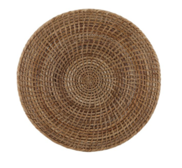 Featured Product The French Chef's Rattan Round Placement