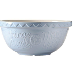 Featured Product Bake My Day Blue Mixing Bowl