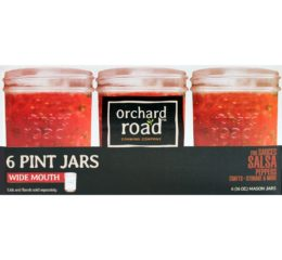 Featured Product 1 Pint (16-oz) Wide Mouth Mason Jars