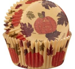 Featured Product Autumn Pumpkin Fresh Baking Cups
