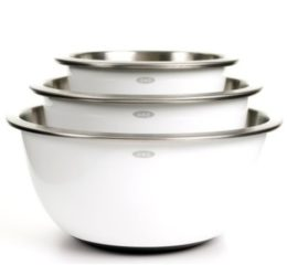 Featured Product Good Grips 3-Piece Stainless-Steel Mixing Bowl Set