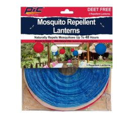 Featured Product Mosquito Repellent Patriotic Lanterns