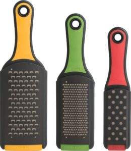 Featured Product Set of 3 Stackable Graters