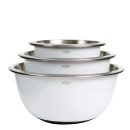 Featured Product 3 Piece Stainless Steel Mixing Bowl Set