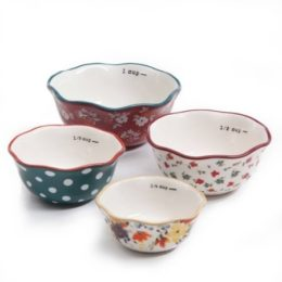 Featured Product 5-Piece Prep Set, 4-Piece Measuring Bowls & 4-Cup Measuring Cup