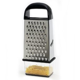 Featured Product Touch Stainless Steel Box Grater with Catcher