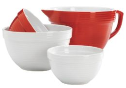 Featured Product 4-pc. Ceramic Mixing Bowl Set