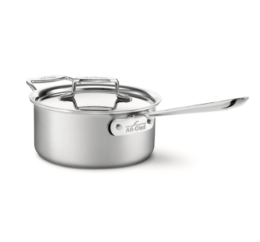 Featured Product d5® Stainless Brushed 3-Qt Sauce Pan