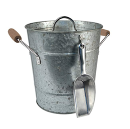 Featured Product Galvanized Metal Bucket with Scoop