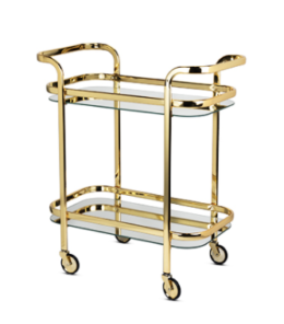 Featured Product Gold Bar Cart by Viski