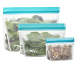 Featured Product (re)zip Reusable Storage Bags
