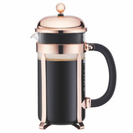Featured Product Chambord French Press Coffee Maker in Copper