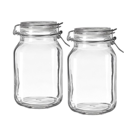Featured Product Fido Clear Glass Jar