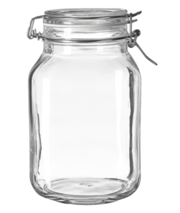 Featured Product Fido Clear Jar