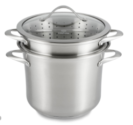 Featured Product Contemporary Stainless 8-Qt. Multi Pot