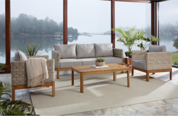 Featured Product 4 Piece Patio Conversation