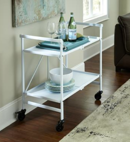 Featured Product Folding Silver Cart