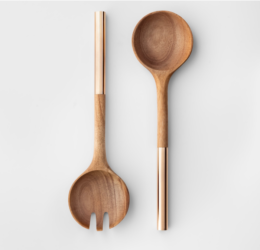 Featured Product Acacia Wood Salad Serving Set