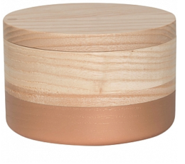 Featured Product Dipped Copper Small Curio Box