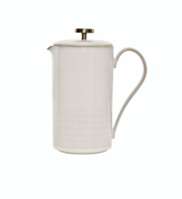 Featured Product Natural Canvas Textured Cafetiere
