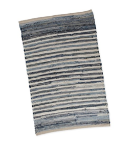 Featured Product Denim Stripe Chindi Rug