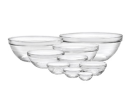 Featured Product Lys Stackable Clear Bowl