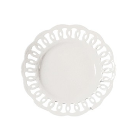 Featured Product La Porcellana Bianca Firenze Carved Plate