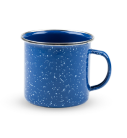 Featured Product Blue Enamel Mug