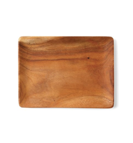 Featured Product Acacia Wood Satin Rectangle Tray