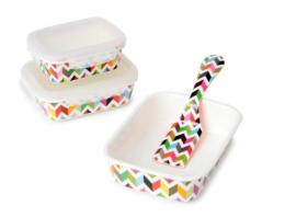 Featured Product Ziggy Porcelain Food Storage Set