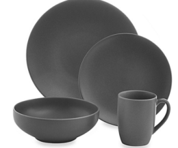 Featured Product Paradiso Round Dinnerware in Grey