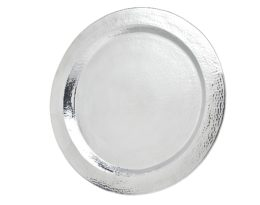 Featured Product Hammered Large Round Tray