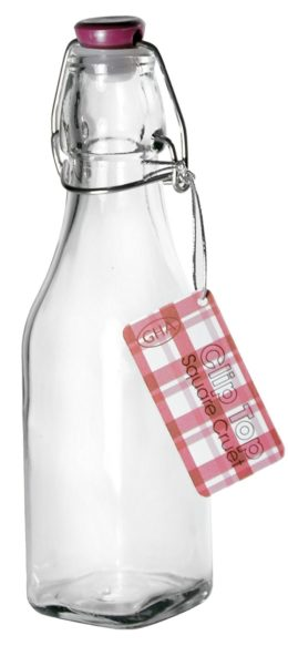 Featured Product Square Glass Jug with Clip Top