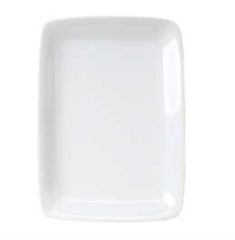 Featured Product White Porcelain Rectangular Platter