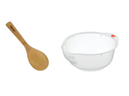 Featured Product Rice Washing Bowl & Paddle