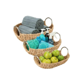 Featured Product 3-Piece Oval Natural Baskets