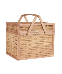 Featured Product Large Bamboo Wicker Picnic Basket