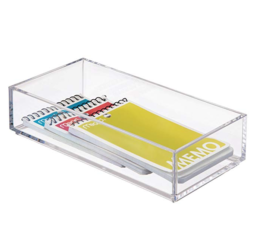 """Featured Product Clarity Cosmetic Drawer Organizer 4"""" x 8"""" x 2"""""""