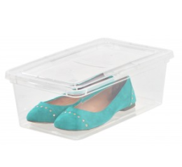Featured Product Clear Shoe Box